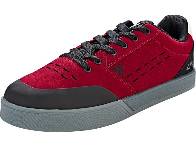 Afton Shoes Keegan Flatpedal Shoes Men Black/Maroon